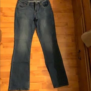 Old Navy Mid Rise Boot Cut Size 8 Long Jeans